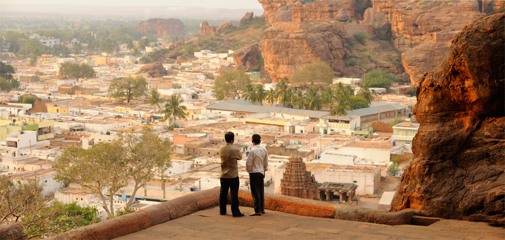 Old Badami Town, Karnataka, India - by doss@yours